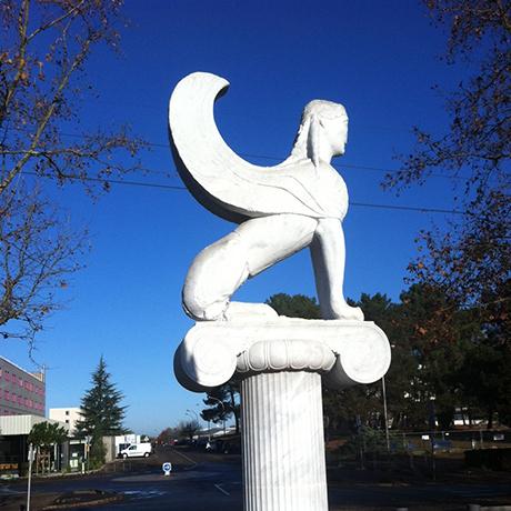 Sphinx des Naxiens
