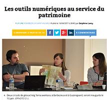Barbezieux : Les Outils Numériques Au Service Du Patrimoine