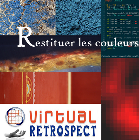 Virtual Retrospect 2017 // Restituer les couleurs