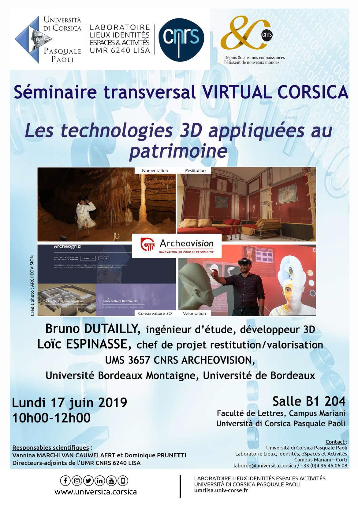 17 Juin 2019- Université Pasquale Paoli En Corse
