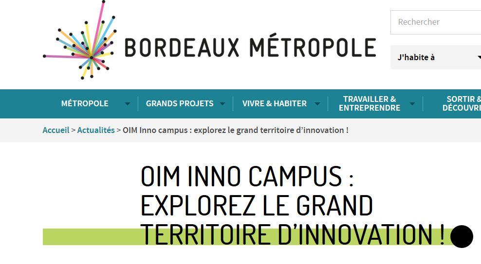 Parcours Innovation Et Patrimoine – 21 Septembre
