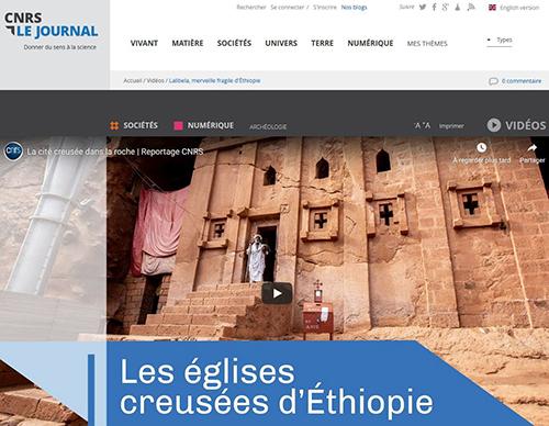 Lalibela Dans Le Journal Du CNRS